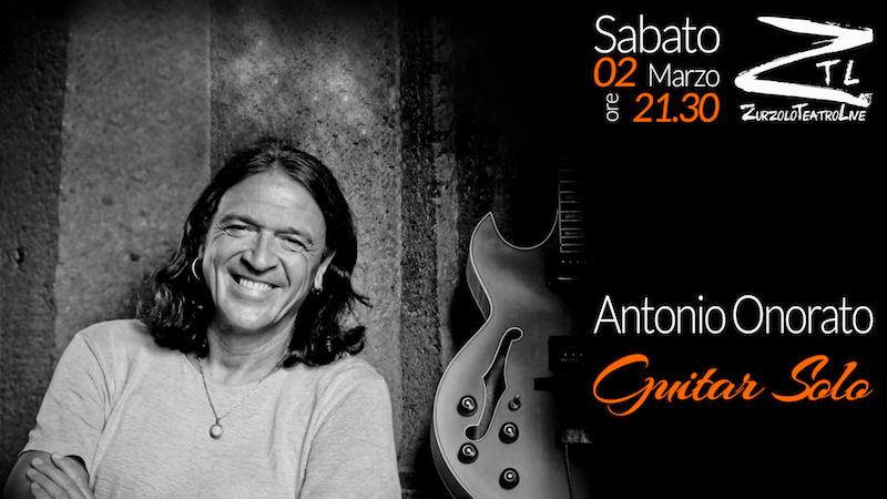 """02/03/2019 – Antonio Onorato """"Guitar Solo"""""""