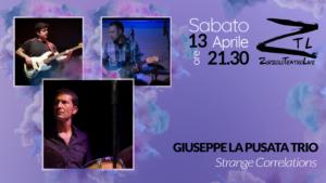 13/04/2019 – Giuseppe La Pusata Trio