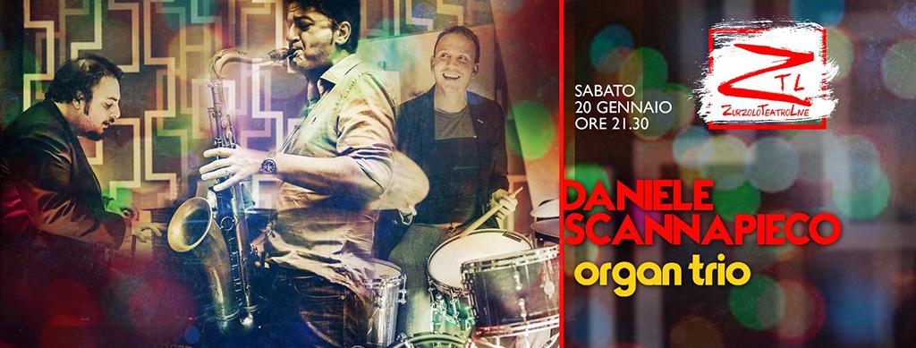 20/01/2018 – Daniele Scannapieco Organ Trio