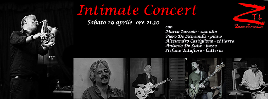 29/04/2017 – Intimate Concert