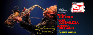 "24/02/2018 – Marco Zurzolo in ""Intimate Concert"""