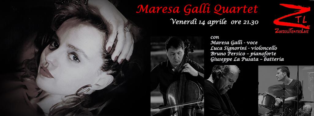 14/04/2017 – Maresa Galli Quartet