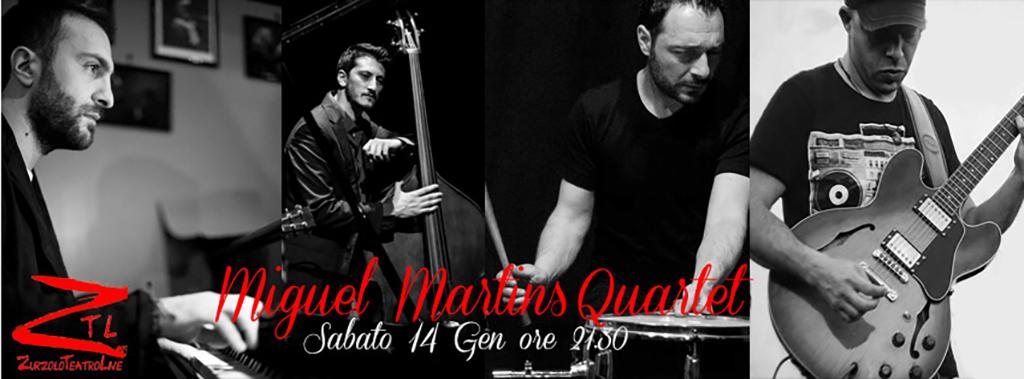 14/01/2017 – Miguel Martins 4tet