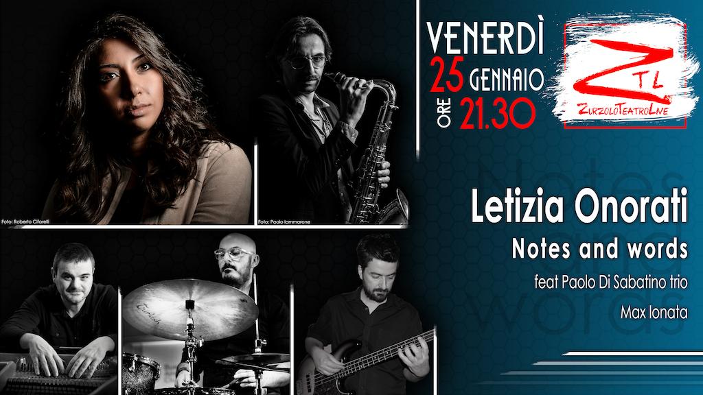 25/01/2019 – Letizia Onorati ft Paolo Di Sabatino Trio e Max Ionata