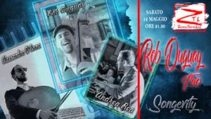 "12/05/2018 – Rob Duguay Trio ""Songevity"""