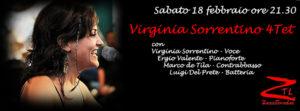18/02/2017 – Virginia Sorrentino 4Tet