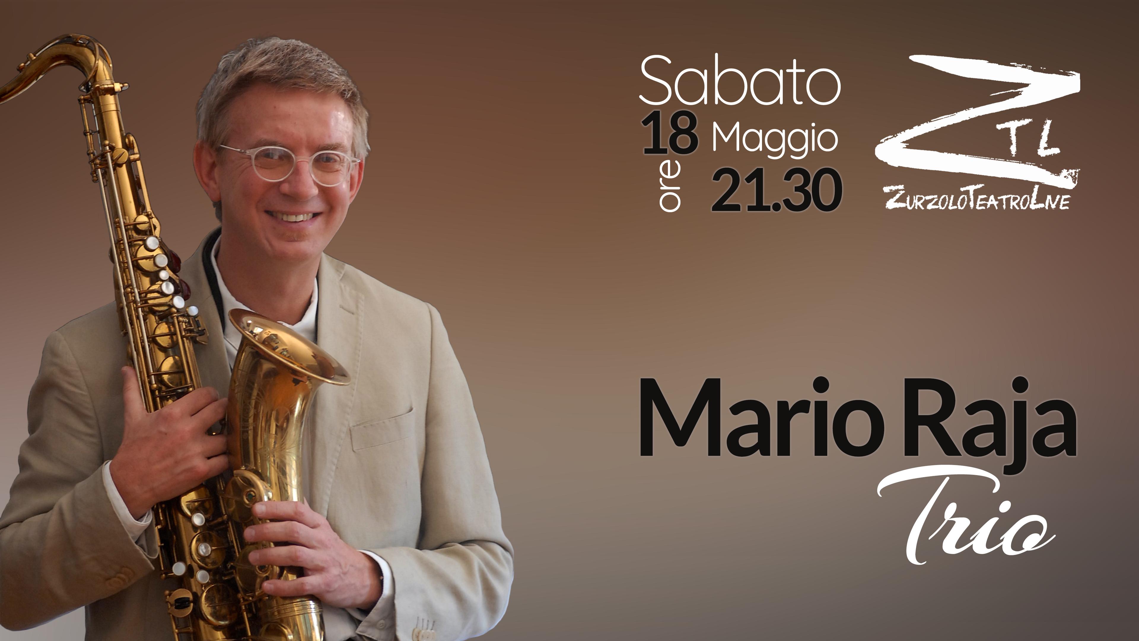18/05/2019 – Concerto di Mario Raja Trio