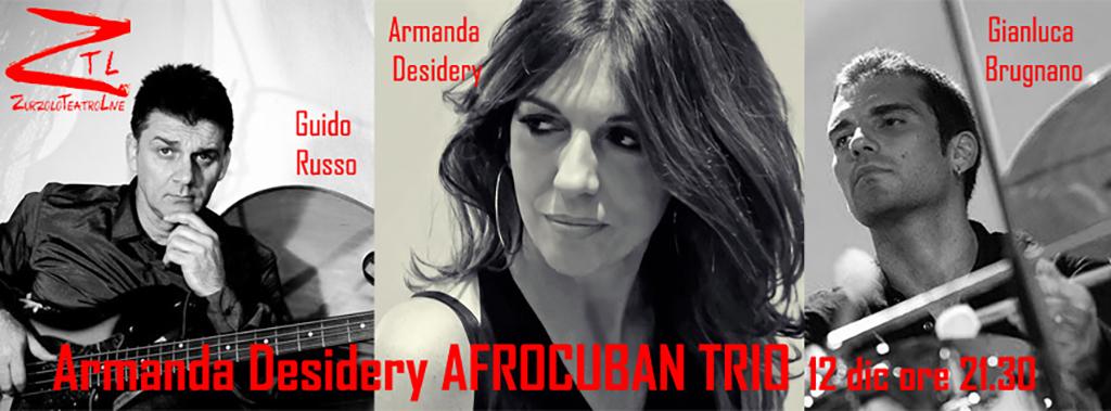 12/12/2015 – Armanda Desidery AFROCUBAN TRIO