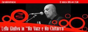 12/03/2015 – 'Na voce e 'na chitarra