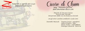 """22/04/2016 – Cuore di Clown – una """"Historie fictive"""""""
