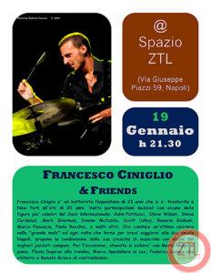 19/01/2013 – Francesco Ciniglio & Friends Show