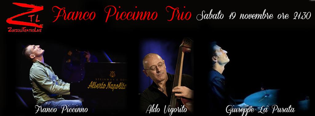 19/11/2016 – Franco Piccininno Trio