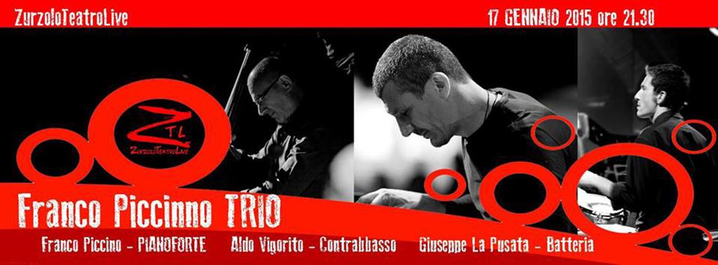 17/01/2015 – Franco Piccinno Trio