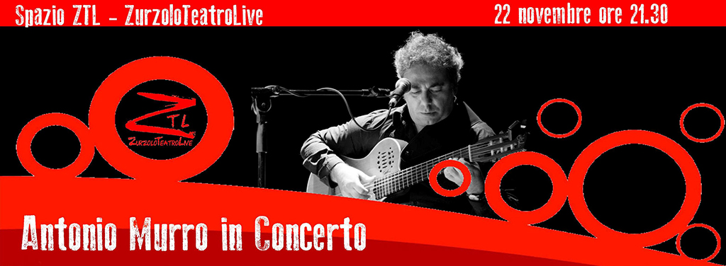 22/11/2014 – Antonio Murro in concerto