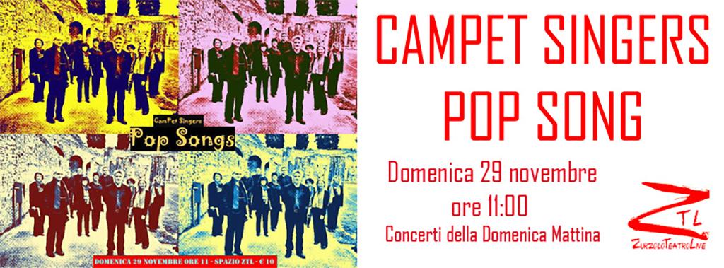 29/11/2015 – Campet Singer in POP SONGS