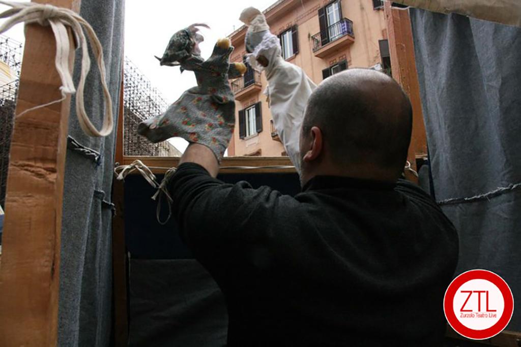 07/12/2012 – ALFREDO GIRALDI in Pulcinella Blues (Resistenza Teatrale)