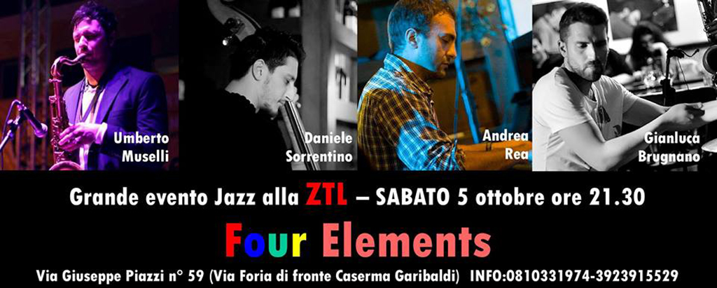 05/10/2013 – Four Elements grande evento
