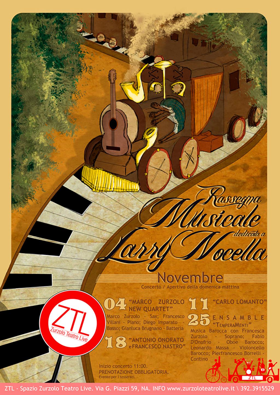 30/10/2012 – Rassegna musicale dedicata a Larry Nocella