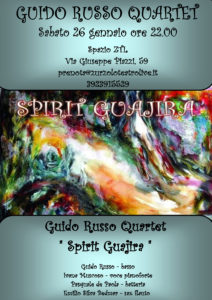 26/01/2013 – Guido Russo Quartet in concerto