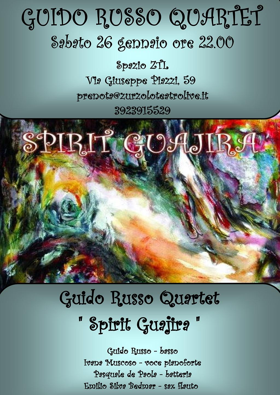 26/01/2013 – Guido Russo Quartet in concerto