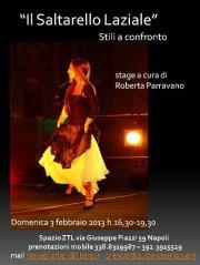 03/02/2013 – Stage di saltarello laziale