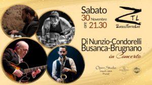 30/11/2019 – Di Nunzio-Condorelli-Busanca-Brugnano in Concerto