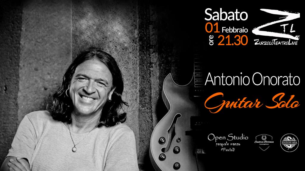 """01-02-2020 – Antonio Onorato in """"Guitar Solo"""""""