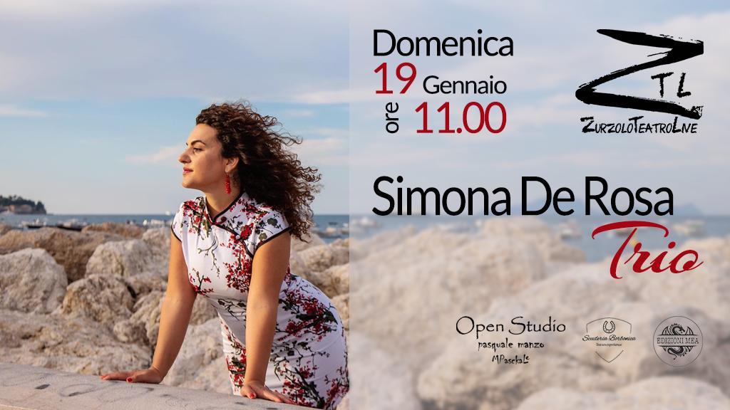 19/01/2020 – Simona De Rosa Trio