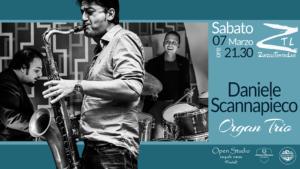 """Daniele Scannapieco """"Organ Trio"""""""