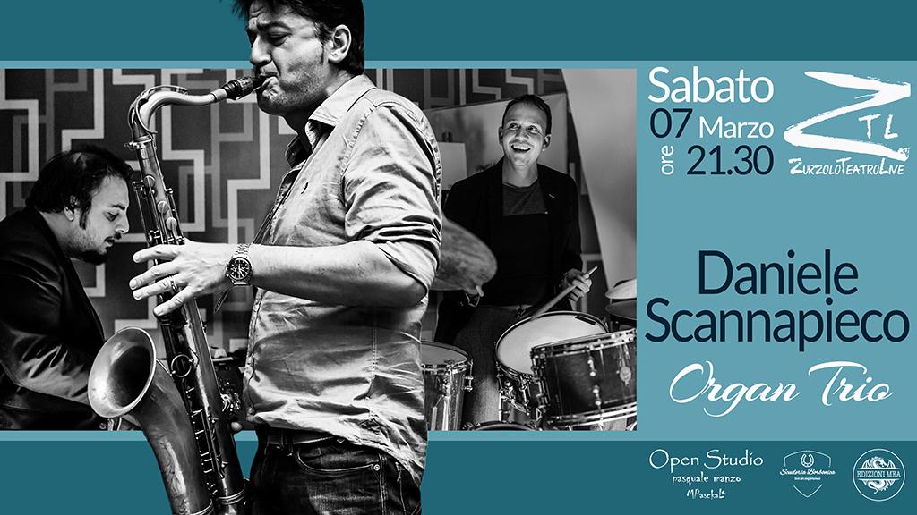 07-03-2020 – Daniele Scannapieco Organ Trio